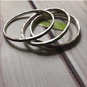 🔥⚡️BOGO SALE⚡️🔥 Sigrid Olsen 3 Silver Bracelets